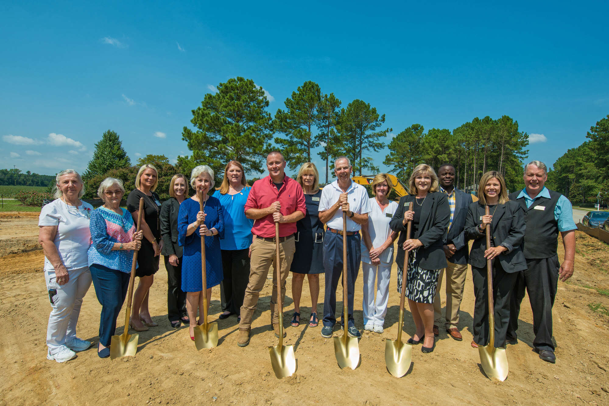 The Manor Senior Living broke ground on a new 3,200-square-foot club house